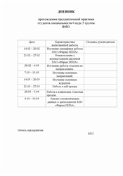 Отчет по практике по туризму в турфирме Сердало Отчет по практике по туризму в турфирме